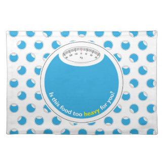 Peso y salud conscientes mantel