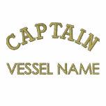 Pesonalised Boat Name Captain Hoodie