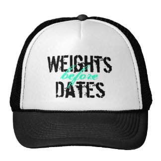 ¡Pesos antes de fechas! Gorras