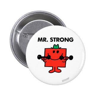 Pesos de elevación de Sr. Strong el | Pin Redondo De 2 Pulgadas