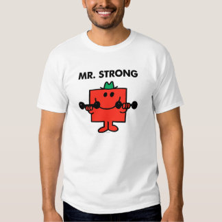 Pesos de elevación de Sr. Strong el | Playeras
