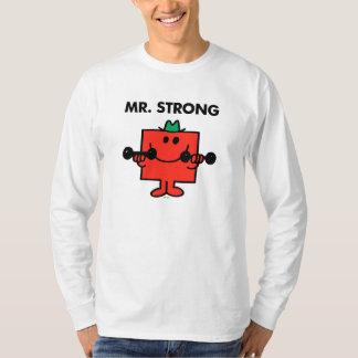 Pesos de elevación de Sr. Strong el | Remeras