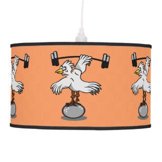 Pesos de elevación del gallo lámpara de techo