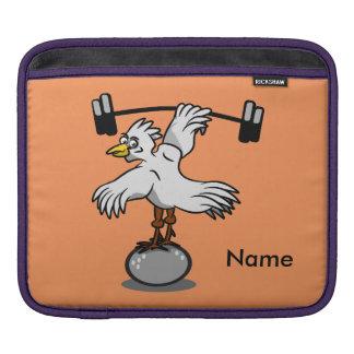 Pesos de elevación del pollo funda para iPads