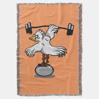 Pesos de elevación del pollo manta
