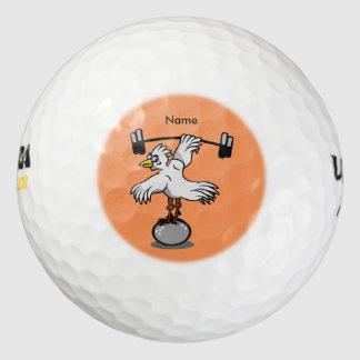 Pesos de elevación del pollo pack de pelotas de golf