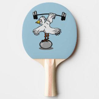 Pesos de elevación del pollo pala de tenis de mesa