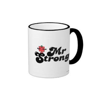Pesos de Sr. Strong el | y letras de la burbuja Taza A Dos Colores