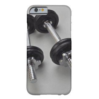 Pesos del entrenamiento funda barely there iPhone 6