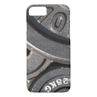 Pesos del gimnasio funda iPhone 7