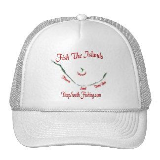 Pesque la colección de las islas por FishTs.com Gorro De Camionero