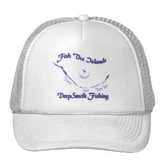 Pesque la colección de las islas por FishTs.com Gorras