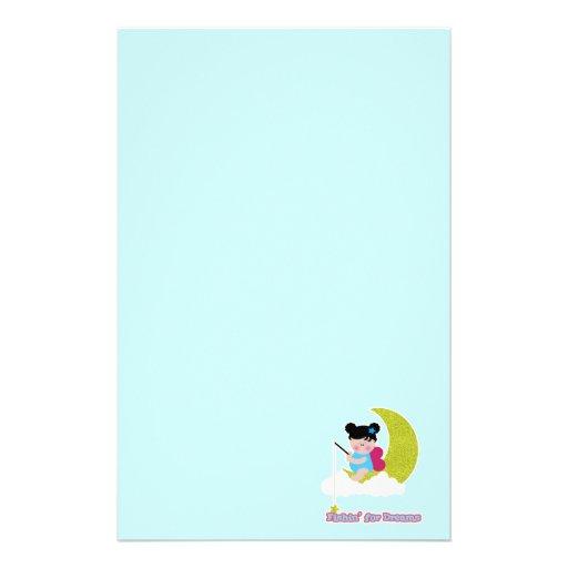 pesque para la hada linda del bebé del lil de los  papelería de diseño