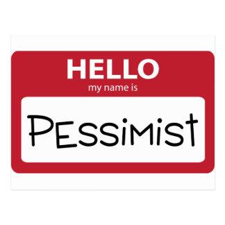 pessimist 001 postcard