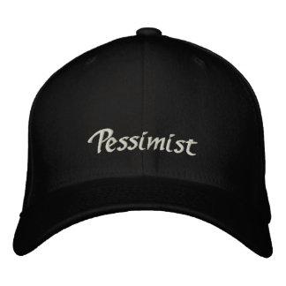 Pessimist Cap / Hat Embroidered Baseball Cap