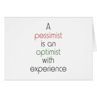 pessimist optimist card