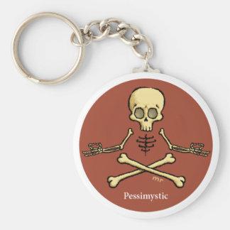 Pessimystic Keychain