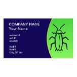 pest control business card template