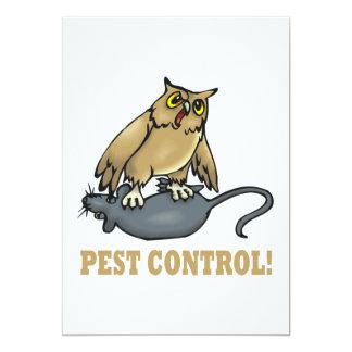 Pest Control Card