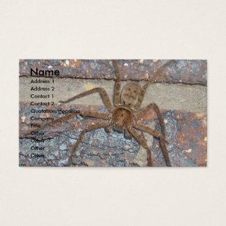 Pest Control Card Huntsman