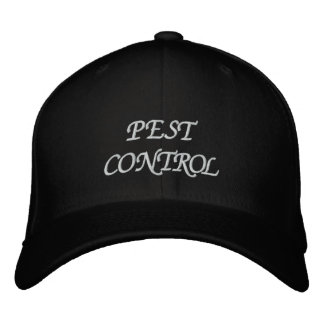 PEST CONTROL EMBROIDERED BASEBALL HAT