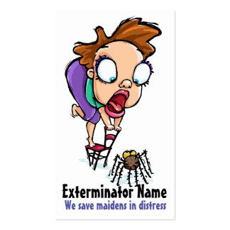 Pest Control. Exterminating. Customizable Promo Business Card Templates