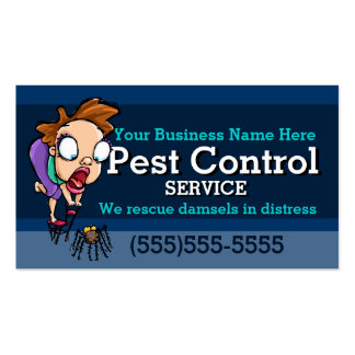 Pest Control.Exterminator.Animal trap.Customizable Double-Sided Standard Business Cards (Pack Of 100)