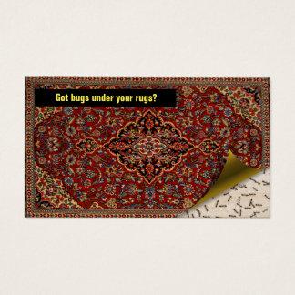 Pest Control Exterminator - Got bugs? Persian Rug Business Card