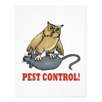 Pest Control Flyer