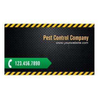 Pest Control Professional Dark Metal Business Card