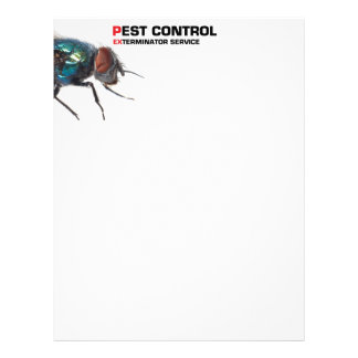 Pest control service letterhead