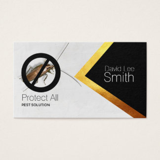 Pest solution business card