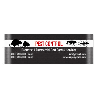 Pest Vermin Control Personalize Business Card