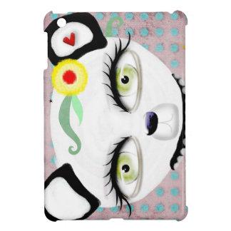 Pestañas largas del oso polar iPad mini fundas