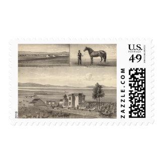 Pestdorf residence postage stamp