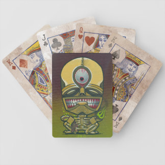 """""""pestilence"""" bicycle playing cards"""