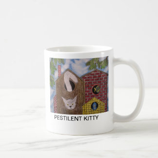 PESTILENT KITTY COFFEE MUG