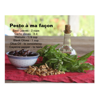 Pesto Postcard