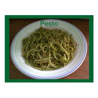 Pesto Recipe Post Cards