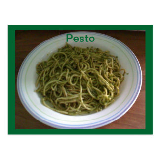 Pesto Recipe Postcards