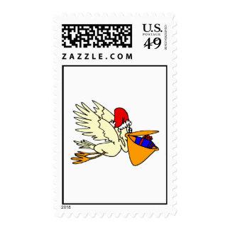 Pesty Pelican Stamp