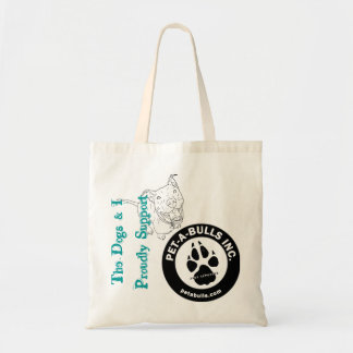 Pet-Abulls Supporter Enviro Friendly Tote Budget Tote Bag