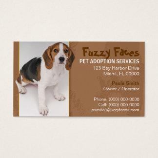 Pet Adoption Business Card