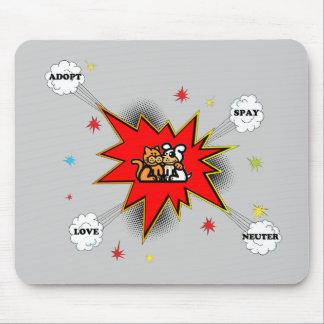 Pet Adoption Explosion Mouse Pad