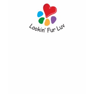 Pet Adoption_Heart-Paw_Lookin' Fur Luv_I support shirt