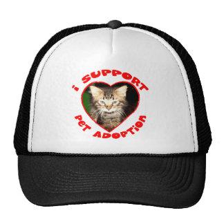 Pet Adoption Kitty Trucker Hat