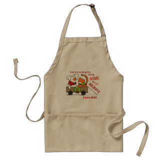 Pet Adoption Patch n Rusty Home for Christmas Adult Apron