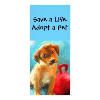 Pet Adoption Rack Cards