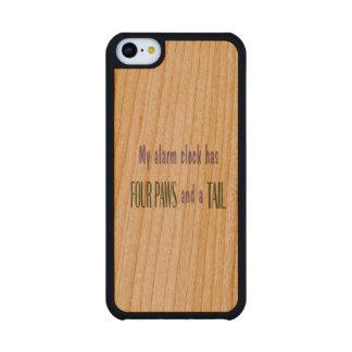 Pet Alarm Clock Carved® Cherry iPhone 5C Case