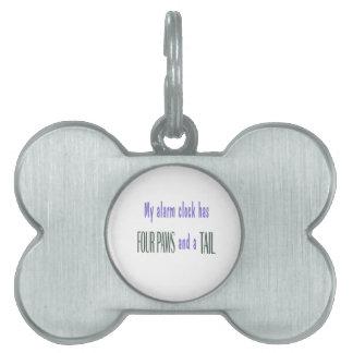 Pet Alarm Clock Pet Tag